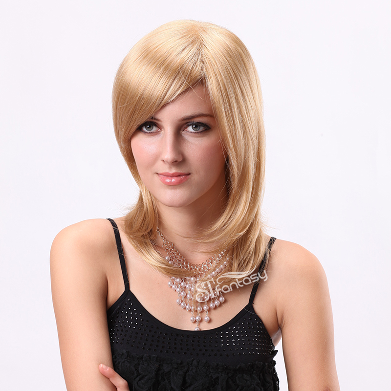 Blonde Synthetic Wigs For Women From CHINA