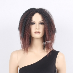 1#/ 1T33# mix color synthetic afro wig for south africa