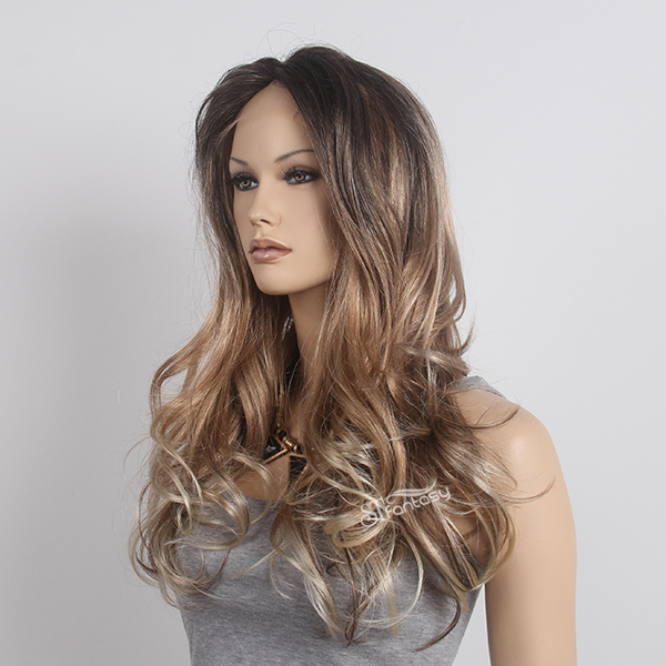 High quality synthetic lace front wigs