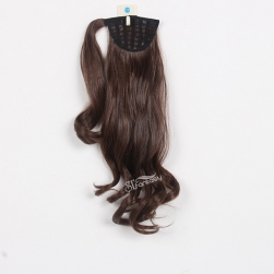 ST 2016 new arrival dark brown synthetic hair ponytail wholesale