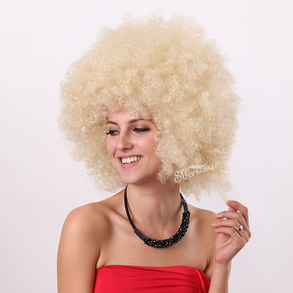 Afro style kinky curly african amrican wig companies professional synthetic  fake wig making supplier ... 54619eac55a5