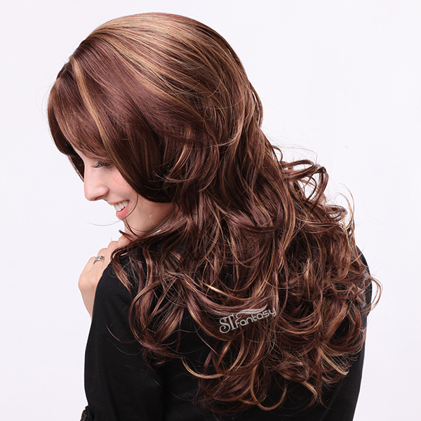 Classical curly wigs manufacturer of women wigs for sale