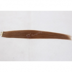 Guangzhou hair factory wholesale 18 to 28 inch 7a russian hair tape hair extensions