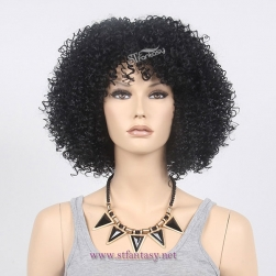ST wig company wholesale kinky curly natural looking afro wigs costumes