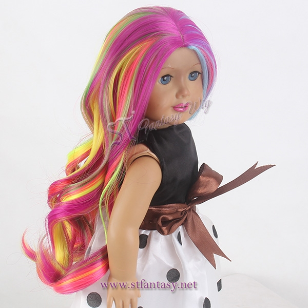 China Wigs Supplier Doll Wigs 18 Inch American Doll Wigs