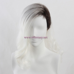"Buy Wigs Wholesale China Japanese 20"" Flame Resistant Synthetic Hair Long Wavy Wig For Female Mannequin Uk"