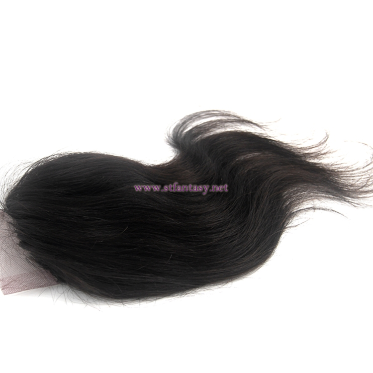2017 new arrival body wave remy human hair 4X4 swiss lace closure for women wholesale