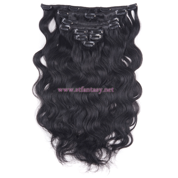 China Wigs Supplier Human Clip In Hair Extensionhair Pieces Manufacture