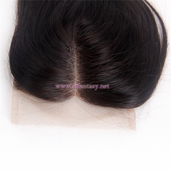 "Wholesale Hair Package Deals 100% Virgin Human Hair 4x4 10"" Straight Natural Lace Frontal Closure"