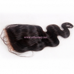 Unites States Human Wholesale Hair Virgin Brazilian Hair 4x4 12