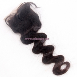 100% Indian Human Hair Wholesale Factory Long 4x4 18
