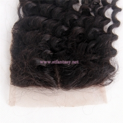 100% Peruvian Human Hair Wholesale 4x4 16