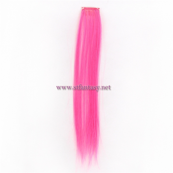 China Wigs Supplier Synthetic Clip In Hair Extensionhair Pieces