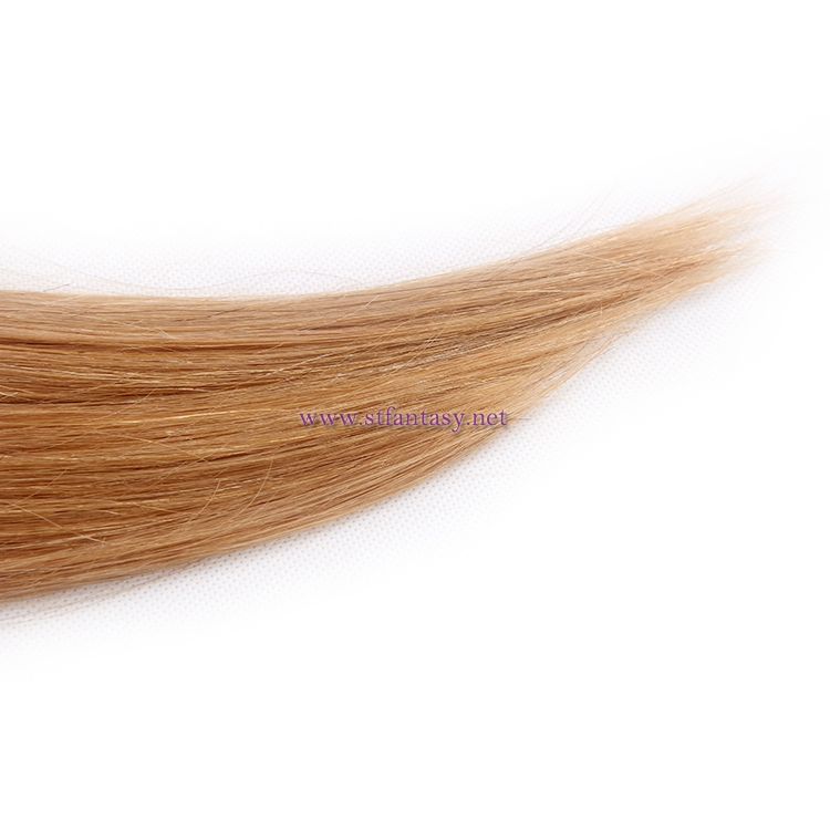 China Indian Hair Weave Manufacturers Half Black Half Blonde Long