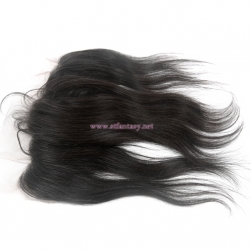 China Human Hair Toupee Factory Wholesale 13x4 Natural Lace Frontal Black Straight Hair Toupee
