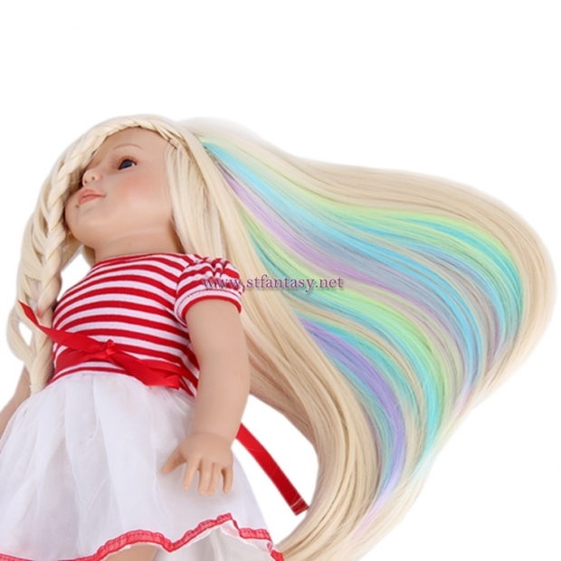 Fantasywig Wholesale American Girl Doll Wig Synthetic Hair
