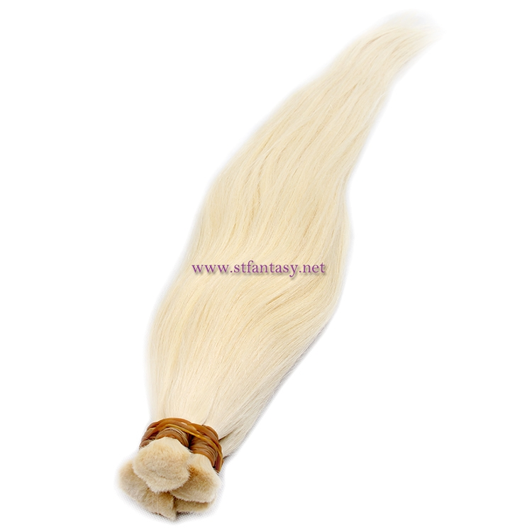 China Hair Bulk Manufacturers Long Straight 613 Blonde Hair Wig Brazilian Hair Extensions Wholesale