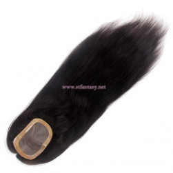 Human Hair Toupee for Women-Top Quality 6*4 PU Straight Lace Closure Wholesale