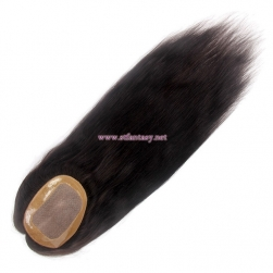 Hairpieces Supplier- Wholesale 7x5 Lace Closure Long Straight Women Toupee