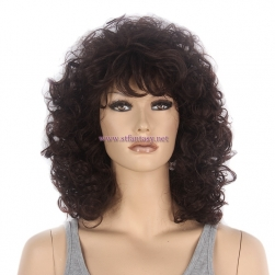 "Synthetic Wig in Guangzhou- Sexy 15"" Afro Wig for Black Women Manufacturer"