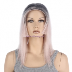 "Pink Ombre Wig- 17"" Fashion Synhtetic Cosplay Wig St Fantasy Wig"
