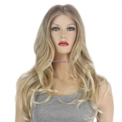 "Blonde Wig Supplier-2018 Hot 26"" Middle Part Long Curly Wig for White Women"