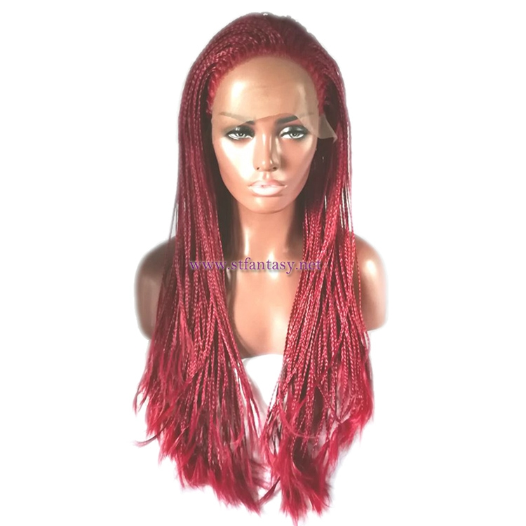 African American Braided Wigs-Custom Synthetic Wig for Women