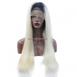 100% Density Lace Front Wig- Silky Straight Women's Wog Outlet