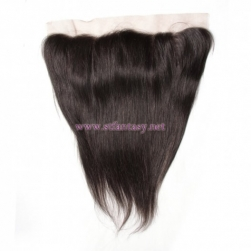 ST Fantasy Lace Frontal Closure with 4Bundles Hair Indian Straight Natural Color