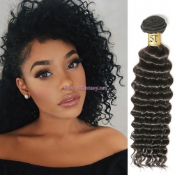 ST Fantasy Malaysian Virgin Deep Wave Hair 3Bundles Human Hair