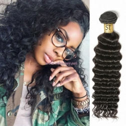 ST Fantasy Virgin Malaysian Hair Deep Wave Weave 4Bundles