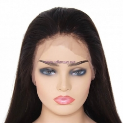 ST Fantasy Pre-Plucked Free Part Long Straight Full Lace Human Hair Wig