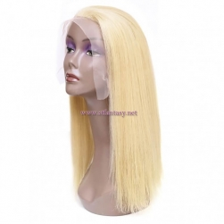ST Fantasy Best #613 Blonde Full Lace Human Hair Wigs With Baby Hair